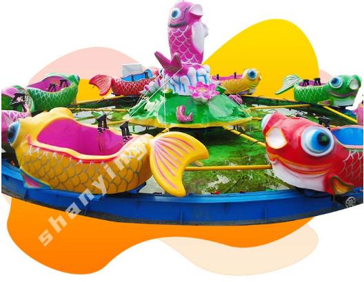 """经典水枪游乐设备""""鲤鱼跳龙门""""为什么还是这么受欢迎?"""