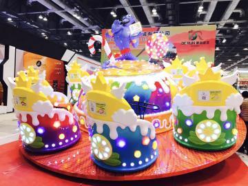 新型儿童游乐场设备魔幻神灯2代-赚钱的游乐设备项目