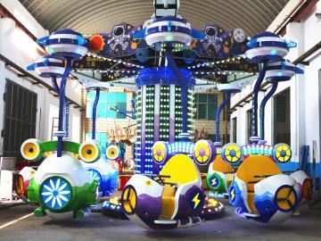 新型儿童游乐设备太空穿越-科技感游乐场设备