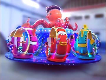 新型经典儿童游乐场设备海底总动员-赚钱的游乐设备